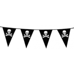 DRAPEAU PIRATES 6M