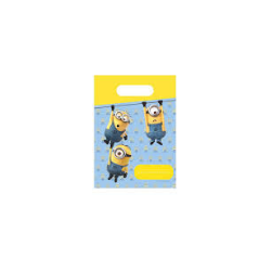 6 sachets lovely minions