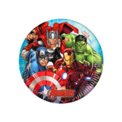 Assiettes avengers mighty...