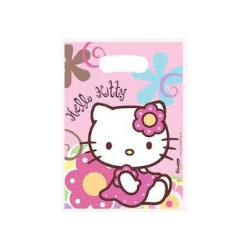 6 sachets hello kitty