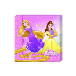 20 serviettes princesses &...