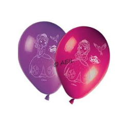 8 ballons sofia the first