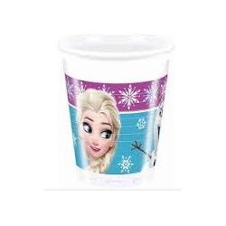 8 gobelets frozen