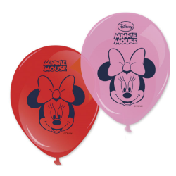 8 ballons minnie