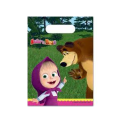 6 sachets masha and the bear