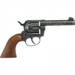 Revolver magnum antique 12 coups - 22cm - métal et pvc