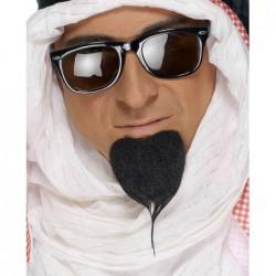 Bouc sultan noir auto adhésives
