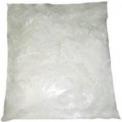 Toile d'araignée 1 kg ignifugée blanche fluorescente
