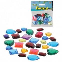 Sachet de fausses pierres precieuses 28 g