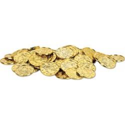 Sachet de 100 pièces dorées 3.50 cm