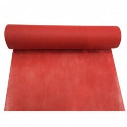 Chemin de table rouge 30cm x 5m