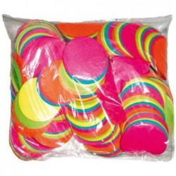 Confettis scène rond multicolores ignifuge 1 kg biodégradable