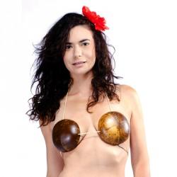 Soutien gorge top noix de coco
