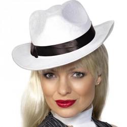 Chapeau de gangster velours...