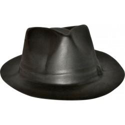 Chapeau gangster adulte Eva noir
