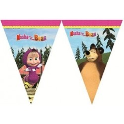 Drapeau masha and the bear
