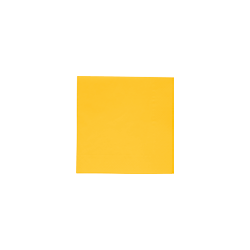 30 serviettes modus vivendi jaune