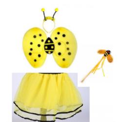 Kit ailes abeille jaune