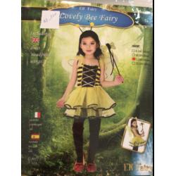 Costume abeille jaune M et L en vente et location (M : 4-6 ans, L:7-9 ans)