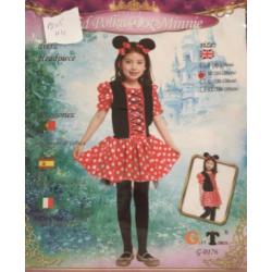 Costume mousse fille m  et l ( m : 4-6 ans  , l:7-9 ans)