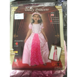 Costume princesse rose m et...