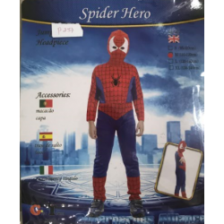 Costume spider man m et l...