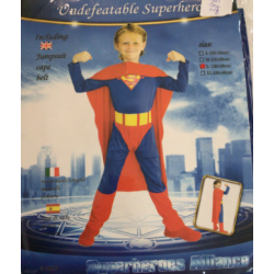 COSTUME HERO M et L EN...