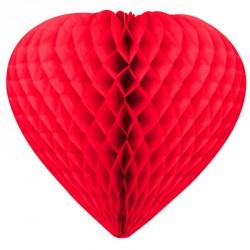 Cœur alvéole en papier...