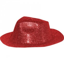Chapeau al capone en pvc à...