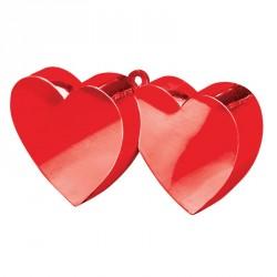 Poids à ballon double cœur