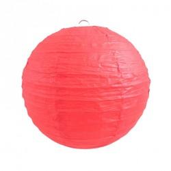 Lanterne en papier rouge 50 cm