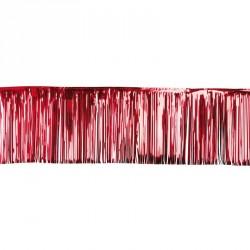 Rideau lamelle 50*500cm rouge