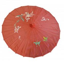 Ombrelle chinoise en tissu...