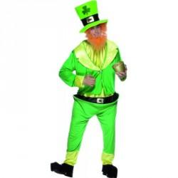 Costume saint Patrick vert vente taille unique