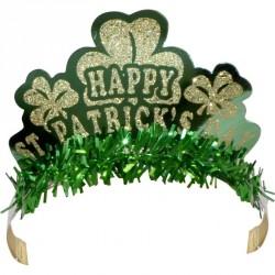Tiare décorée saint Patrick modèles assortis pour femme