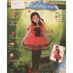 Costume coccinelle rose M et L en vente et location ( m : 4-6 ans  , l:7-9 ans)