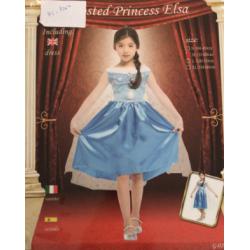Costume princesse bleu m et l en vente et location ( m : 4-6 ans  , l:7-9 ans)
