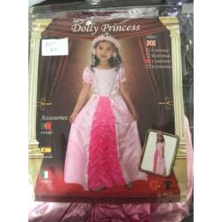 Costume princesse rose m et...