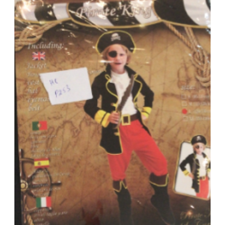 Costume pirate m et l ( m : 4-6 ans  , l:7-9 ans)