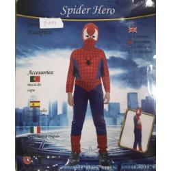 Costume spider man m et l en location ( m : 4-6 ans  , l:7-9 ans)