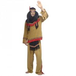Costume D'Indien D'Amérique - Kiowa pour Homme  en location