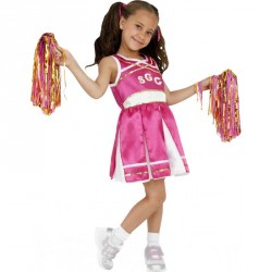 Costume enfant pom-pom girl