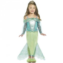 Déguisement  princesse de la mer  , la sirène de la mer