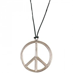 Pendentif peace and love...