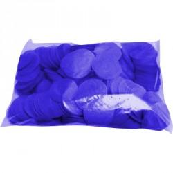 Confettis scène rond bleu roi marine ignifuge 1 kg biodégradable