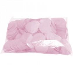 Confettis scène rond rose ignifuge 1 kg biodégradable