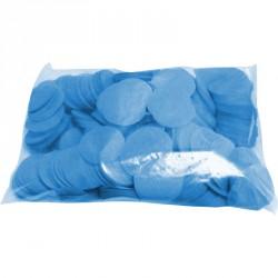 Confettis scène rond turquoise ignifuge 1 kg biodégradable