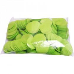 Confettis scène rond vert...