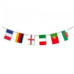 Guirlande papier 24 pays...