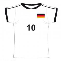 Décor maillot de foot...